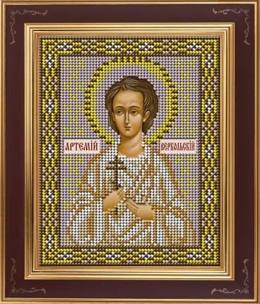 Вышивка бисером Galla Collection М277 Св.Артемий Веркольский 12х15 см