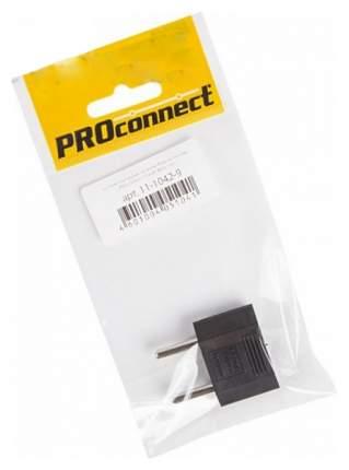 Сетевой переходник плоский, Тефаль Proconnect, чёрный
