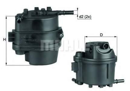 Фильтр топливный Mahle/Knecht KL777D
