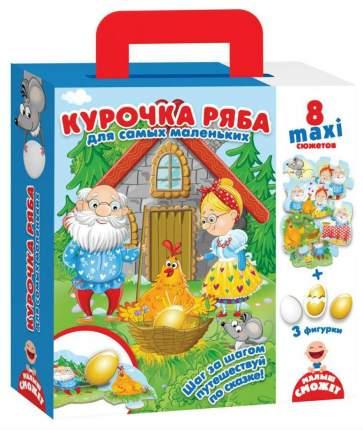 Семейная настольная игра Vladi Toys Путешествие по сказке Курочка Ряба VT2909-12
