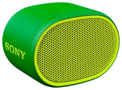 Беспроводная акустика Sony XB01 Extra Bass Green