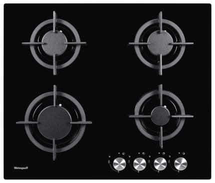 Встраиваемая варочная панель газовая Weissgauff HG 604 BG Black