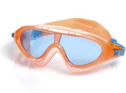 Очки-полумаска для плавания Speedo Rift Junior, 6-14 лет, оранжевые/прозрачные (9316)