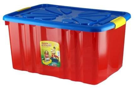 Ящик для игрушек Полимербыт 301 на колесах 600х400х300 мм