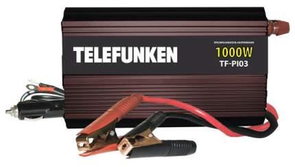Автомобильный преобразователь напряжения Telefunken 12В-220В 1000Вт