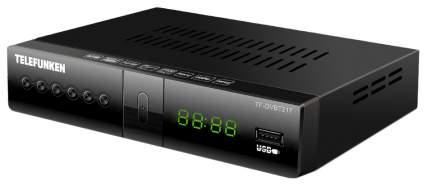 DVB-T2 приставка Telefunken TF-DVBT217 black