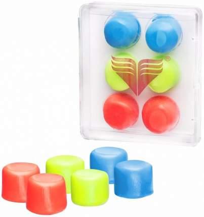 Беруши для плавания TYR Youth Ear Plugs LEPY разноцветные