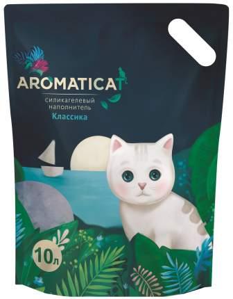 Силикагелевый наполнитель туалета для кошек Aromaticat Классика AC10