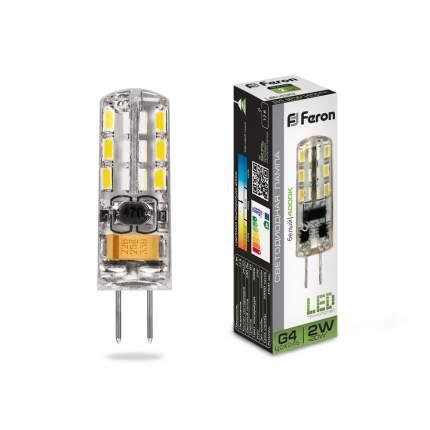 Лампа светодиодная Feron LB-420 2W 12V G4 4000K