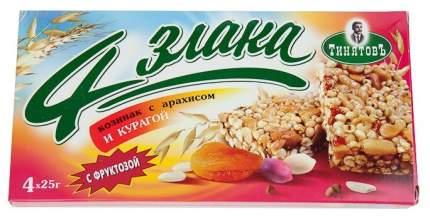 Козинак ТинятовЪ 4 злака арахис с курагой