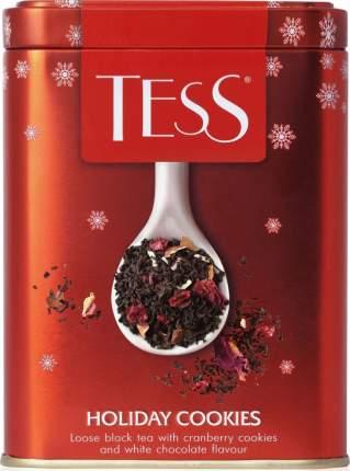 Чай черный листовой Tess holiday cookies 110 г
