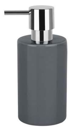 Дозатор для жидкого мыла Spirella Tube Темно-серый