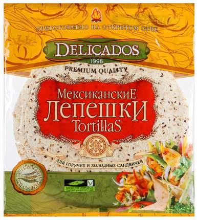 Лепешки Delicados тортильи пшеничные оригинальные 800 г
