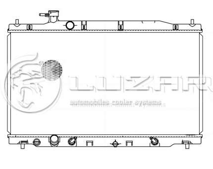 Радиатор охлаждения для а/м honda cr-v (06-) 2.4i at (lrc 231za) Luzar LRc 231ZA