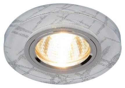 Встраиваемый светильник Elektrostandard 8371 MR16 WH/SL белый/серебро