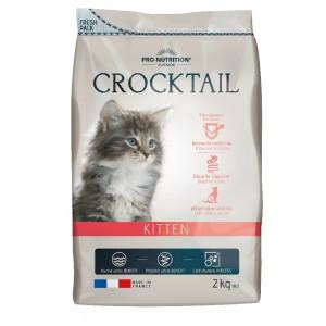 Сухой корм для котят Flatazor Crocktail Kitten, курица, утка, индейка, 2кг