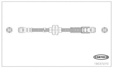 Шланг тормозной CORTECO 19037270