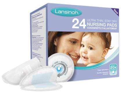 Вкладыши Lansinoh для бюстгалтера 24 штуки