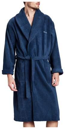 Халат Gant Home Terry Bathrobe 856003203 синий XL