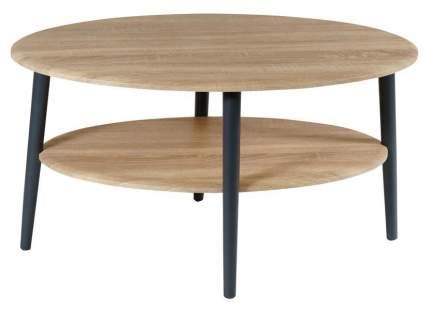 Журнальный столик Мебелик Эль СЖ-01 580 90х60х48 см, дуб сонома/серый