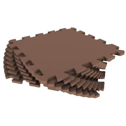 Мягкий пол универсальный ECO COVER 33*33 см коричневый