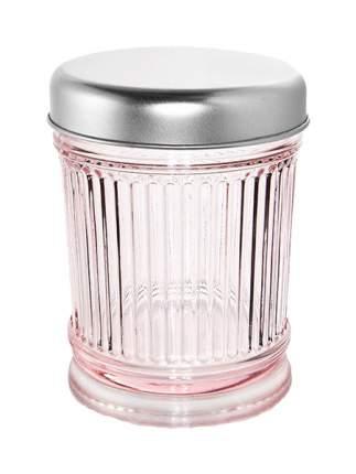 Банка для хранения IVV 7525 Розовый, серебристый