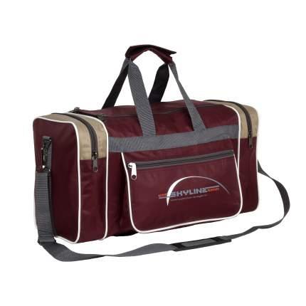 Спортивная сумка Polar 6009/6 бежевая