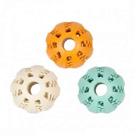 Жевательная игрушка для собак Duvo+ Мяч Dental, в ассортименте, длина 5 см