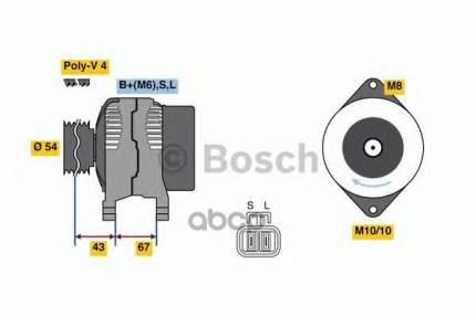 Генератор Bosch 0986080250
