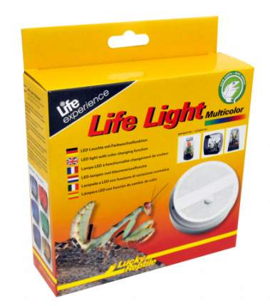 """Светильник - крышка LUCKY REPTILE светодиодный мультиколор """"Life Light Multicolor"""""""