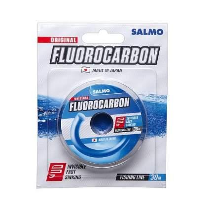 Леска Salmo Fluorocarbon 30 м монофильная флюорокарбоновая зимняя 1,05 кг 0,1 мм