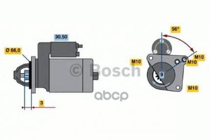 стартер Bosch 0001106017