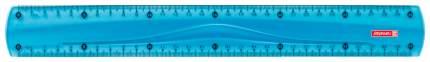 Линейка Brunnen BR49730-33 30 см голубая