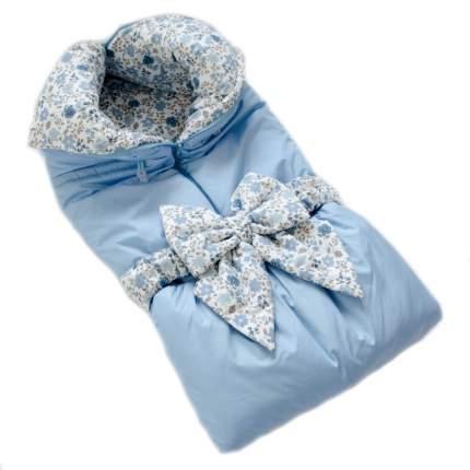Одеяло-трансформер Евгения Весна Голубой цветочный