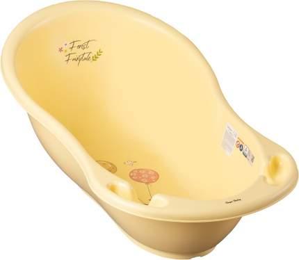 Ванна овальная ТЕГА 86cм ЛЕСНАЯ СКАЗКА светло-желтый FF-004-109