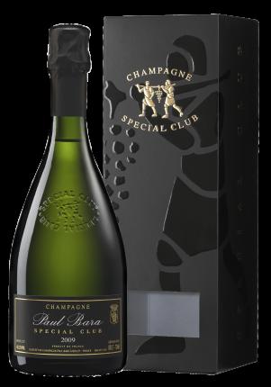 Шампанское Special Club Brut Grand Cru Bouzy, Paul Bara, 2009 г.