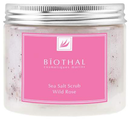 Скраб для тела Biothal Sea Salt Scrub Wild Rose 440 мл