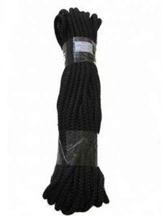 Шнур универсальный полипропилен 7,0мм 20м черный