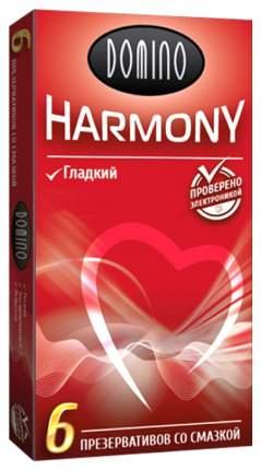 Презервативы Domino Harmony гладкие 6 шт.