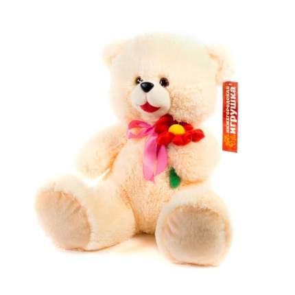 Мягкая игрушка Медведь с цветком малый 45 см Нижегородская игрушка См-324-ц-5