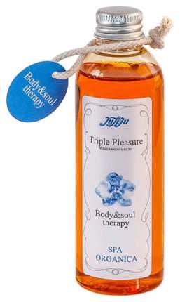 Массажное масло JuLeJu Triple Pleasure Spa Organica 100 г