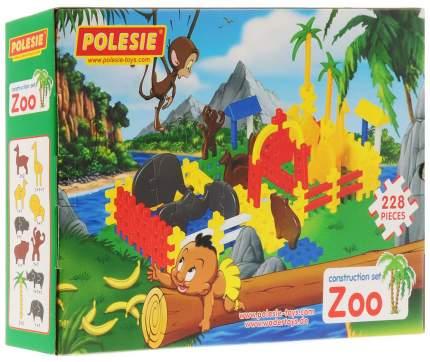 Конструктор Полесье Зоопарк 228 элем в коробке