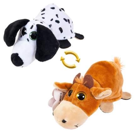 Мягкая игрушка животное Chuzhou Greenery Перевертыши M5013