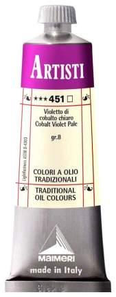 Масляная краска Maimeri Artisti кобальт фиолетовый бледный 40 мл