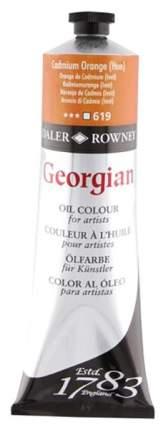 Масляная краска Daler Rowney Georgian кадмий оранжевый имитация 75 мл