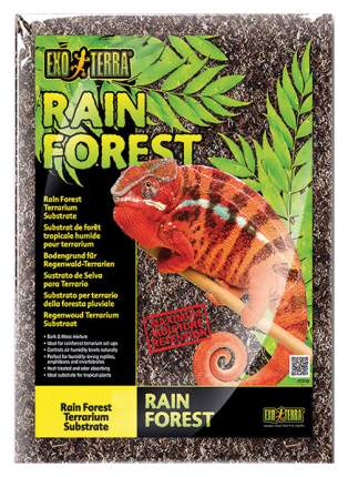 Грунт для террариума Exo Terra Rain Forest, Дождевой лес, 8,8 л