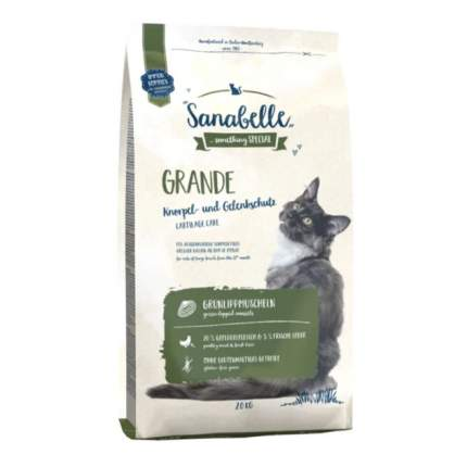 Сухой корм для кошек Sanabelle Grande, для крупных пород, домашняя птица, 2кг