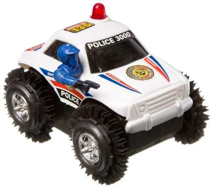 Машина-перевертыш Джип с полицейским