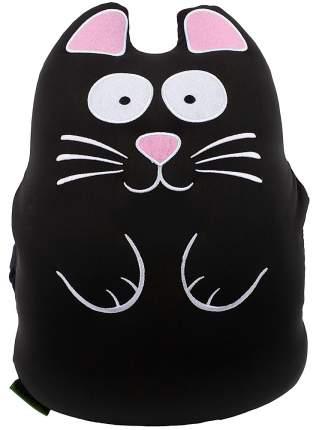 Игрушка-подушка Gekoko Муфта кот черный M002