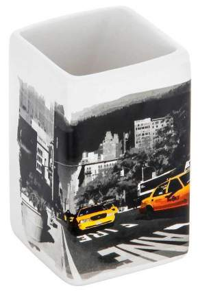 Стакан для зубных щеток Рыжий Кот Нью-Йорк 2897